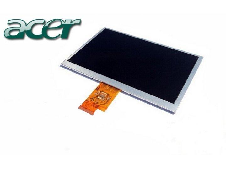 Фирменный LCD-ЖК-сенсорный дисплей-экран-стекло с тачскрином на планшет Acer Iconia Tab A100/A101 черный и инс..