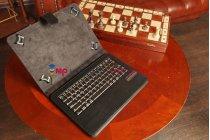Чехол со съёмной Bluetooth-клавиатурой для планшета Acer Iconia Tab A110/A111 черный кожаный + гарантия