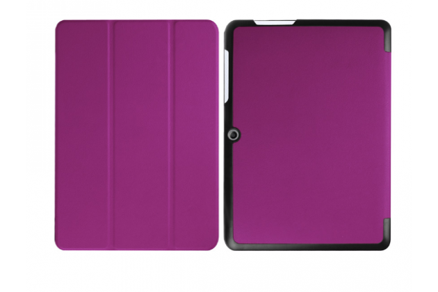 """Фирменный умный тонкий чехол для Acer Iconia One B3-A20 10.1"""" """"Il Sottile"""" фиолетовый пластиковый"""