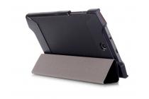 """Фирменный умный тонкий легкий чехол для Acer Predator 8 GT-810 """"Il Sottile"""" черный пластиковый"""