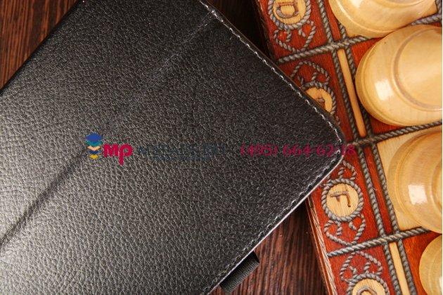 Чехол-обложка для Acer Tab 7 A1-713/A1-713HD черный кожаный
