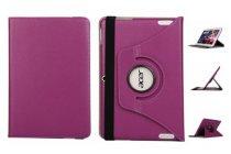 Чехол для планшета Acer Iconia Tab A3-A20/A3-A21/A3-A20FHD поворотный роторный оборотный фиолетовый кожаный