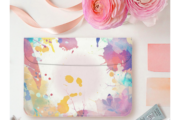 Фирменный оригинальный чехол-клатч-сумка для Apple MacBook Air 13 Early 2015 ( MJVE2 / MJVG2) 13.3 / Apple MacBook Air 13 Early 2014( MD760 / MD761) 13.3 из качественной импортной кожи