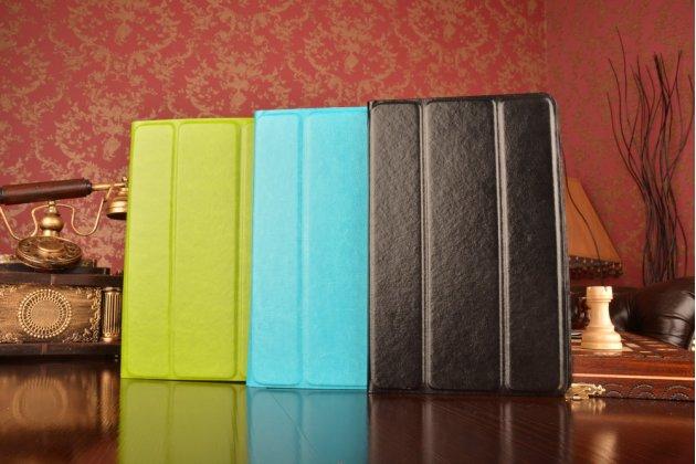 Чехол с вырезом под камеру для планшета Acer Iconia Tab W500/W501 с дизайном Smart Cover ультратонкий и лёгкий. цвет в ассортименте