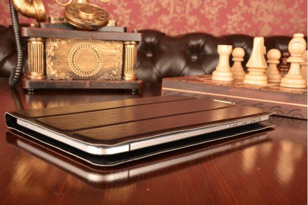 Чехол с вырезом под камеру для планшета Apple MacBook Air 13 Early 2014( MD760 / MD761) 13.3 с дизайном Smart Cover ультратонкий и лёгкий. цвет в ассортименте