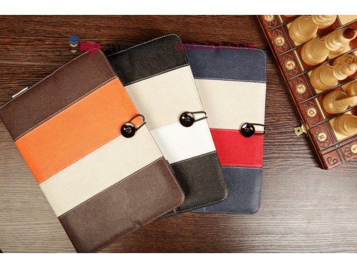 Чехол-книжка для планшета с диагональю 10.1 дюймов натуральная кожа кожаный