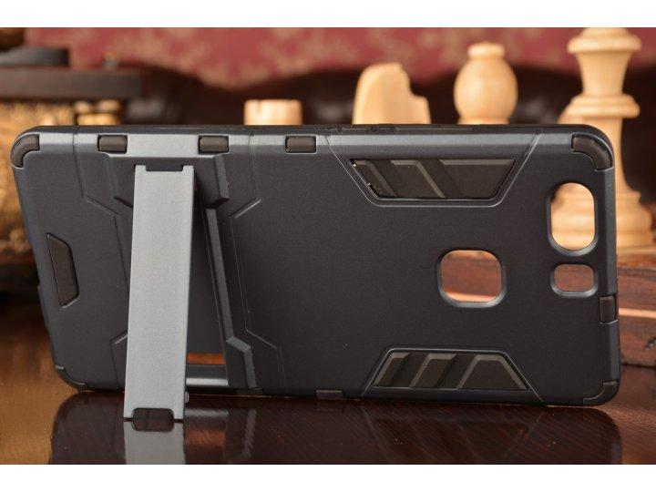 Противоударный усиленный ударопрочный фирменный чехол-бампер-пенал для  Huawei P9 + Plus (VIE-AL10 ) 5.5