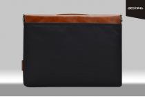 Чехол-сумка-портфель для Microsoft Surface Book 13.5  MacBook 13 с отделением для любых аксессуаров коричневый кожаный