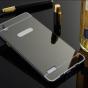 """Фирменная металлическая задняя панель-крышка-накладка из тончайшего облегченного авиационного алюминия для OPPO Mirror 5s"""" черная"""