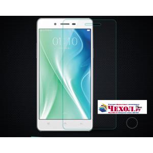 """Фирменное защитное закалённое противоударное стекло премиум-класса из качественного японского материала с олеофобным покрытием для телефона OPPO Mirror 5s"""""""