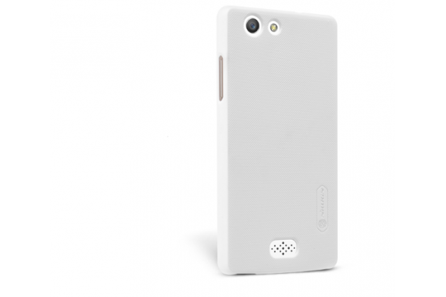 """Фирменная задняя панель-крышка-накладка из тончайшего и прочного пластика для OPPO Neo 5 / 5S"""" белая"""