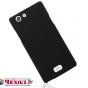 """Фирменная задняя панель-крышка-накладка из тончайшего и прочного пластика для OPPO Neo 5 / 5S"""" черная"""