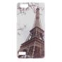 """Фирменная уникальная задняя панель-крышка-накладка из тончайшего силикона для Oppo Neo 7"""" """"тематика Париж"""""""