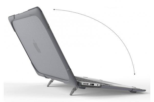 Противоударный усиленный ударопрочный фирменный чехол-бампер-футляр-кейс для Apple MacBook Air 13 Early 2015 ( MJVE2 / MJVG2) 13.3 / Apple MacBook Air 13 Early 2014( MD760 / MD761) 13.3. Цвет в ассортименте.