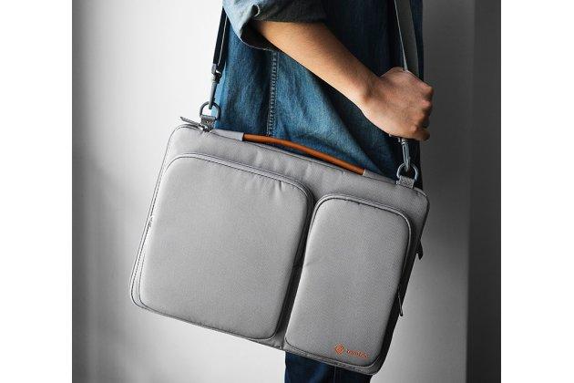Чехол-сумка-бокс для Apple MacBook Air 13 Early 2015 ( MJVE2 / MJVG2) 13.3 / Apple MacBook Air 13 Early 2014( MD760 / MD761) 13.3 с отделением для дополнительных аксессуаров из высококачественного материала
