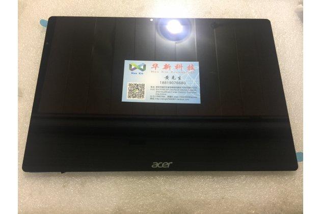 Фирменный LCD-ЖК-сенсорный дисплей-экран-модуль запчасть в сборе с тачскрином на планшет Acer Aspire Switch 12 Alpha (NT.LCDER.008) черный + гарантия