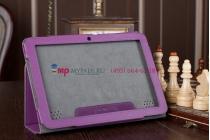 Фирменный чехол-обложка для Acer Iconia Tab A210/A211 фиолетовый