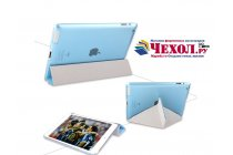 Фирменный чехол-книжка для iPad2/new iPad 3/iPad 4 ультра-тонкий белый пластиковый